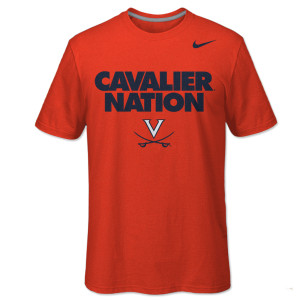 UVA NIKE Cavalier Nation T-Shirt