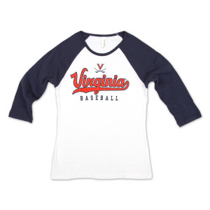 UVA Baseball Ladies Raglan