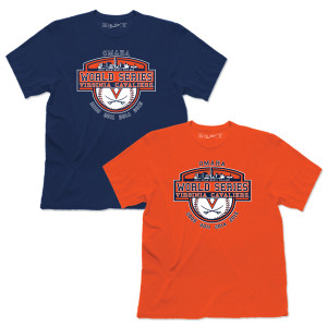 UVA 2015 NCAA Men's Road to Omaha T-Shirt