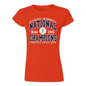 UVA CWS Champions Ladies T-Shirt