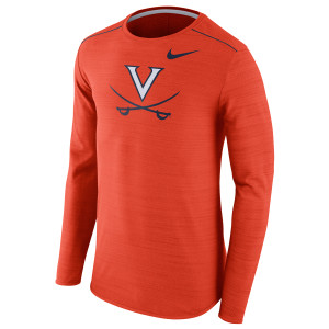 NIKE UVA Long Sleeve Player Top