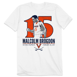 Malcolm Brogdon Retired Number T-Shirt