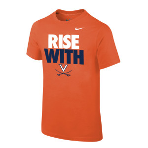 University of Virginia Rise With Youth T-shirt