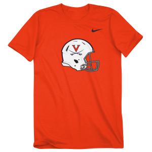 University of Virginia Football Helmet T-shirt