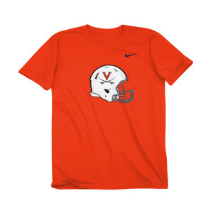 University of Virginia Football Helmet Youth T-shirt