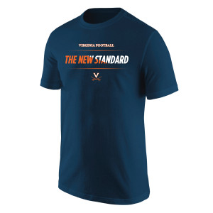 University of Virginia Football The New Standard Bar T-shirt