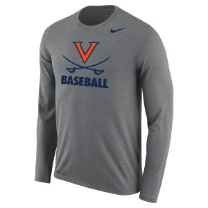 University of Virginia Baseball Dri-Fit LS T-shirt