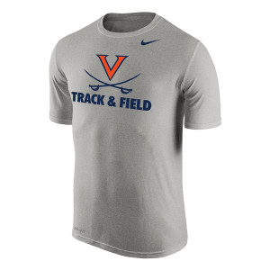 University of Virginia Track and Field NIKE Dri-Fit T-shirt