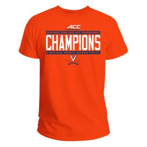 University of Virginia 2018 ACC Champions T-shirt - Orange