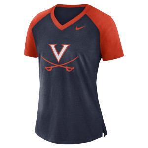 University of Virginia V-sabre V-neck NIKE Ladies Top