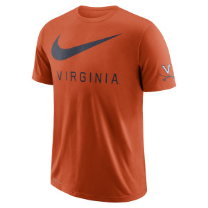 University of Virginia Oversize Logo NIKE T-shirt