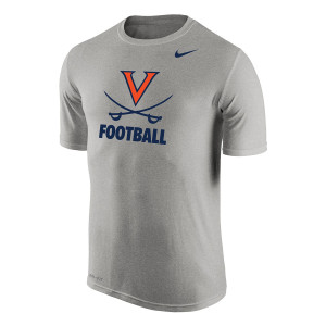 University of Virginia Football NIKE Dri-Fit T-shirt