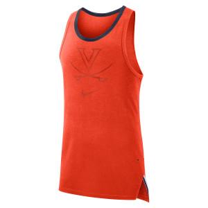 University of Virginia 2018 Basketball Nike Dri-Fit Orange Tank Top