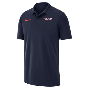 University of Virginia 2018 Nike Navy Basketball Polo