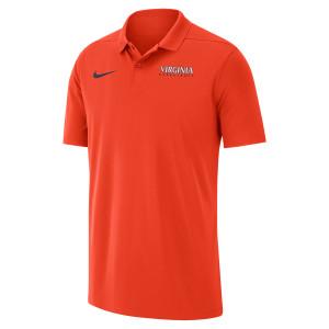 University of Virginia 2018 Nike Orange Basketball Polo