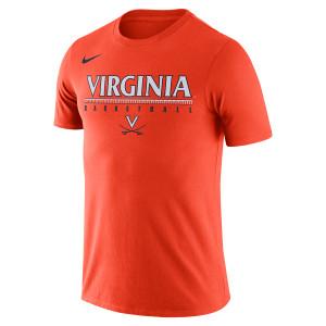 University of Virginia 2018 Nike Orange Basketball T-shirt