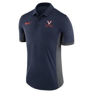 University of Virginia 2018 Nike Navy Dri-Fit Polo