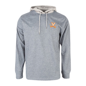 University of Virginia Long Sleeve Hooded T-shirt