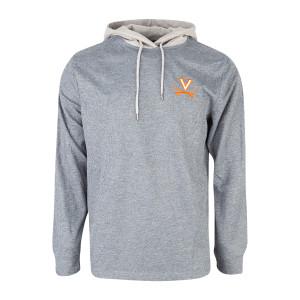 University of Virginia Long Sleeve Hooded T-shirt