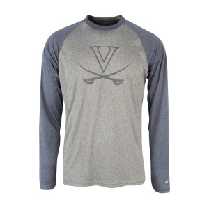 University of Virginia Long Sleeve Raglan T-shirt