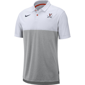 University of Virginia Nike White Polo