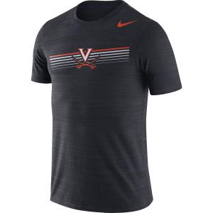 University of Virginia Black V-sabre T-shirt