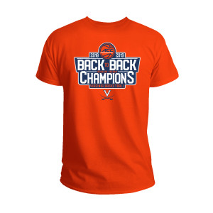 University of Virginia 2019 ACC Regular Season Champion Orange T-shirt