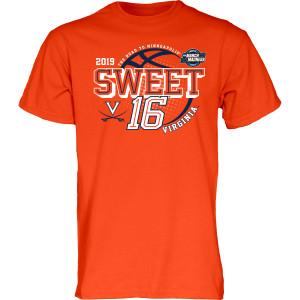 University of Virginia 2019 Orange Sweet Sixteen T-shirt