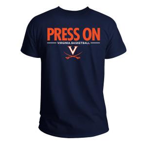 University of Virginia 2019 Press On Navy T-shirt