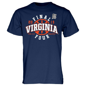 Virginia Basketball 2019 Final Four T-shirt