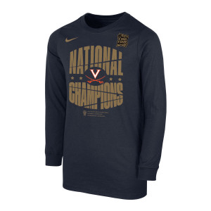 2019 National Champions Celebration LS Youth T-shirt