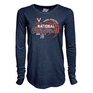 2019 National Champions Ladies LS T-shirt