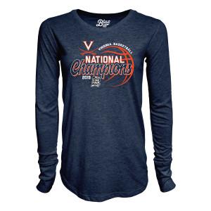2019 National Champions Ladies LS T-shirt