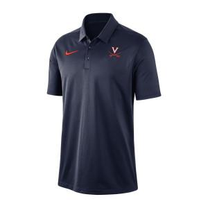 University of Virginia Nike Navy Dri-fit Polo
