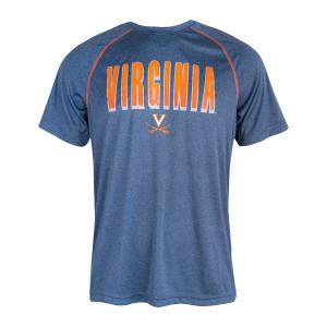 University of Virginia Reflective Logo Navy T-shirt
