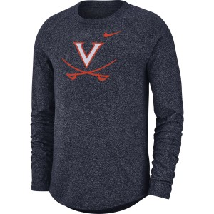 University of Virginia Cavaliers LS Marled Raglan Vault T-shirt
