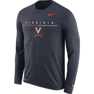 University of Virginia Dri-Fit V-Sabre Long Sleeve Travel T-shirt