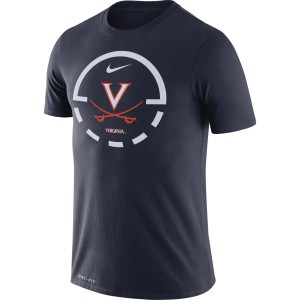 University of Virginia Nike Dri-Fit Legend Navy T-shirt