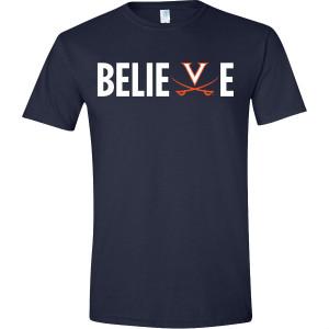 Virginia Football Believe T-shirt