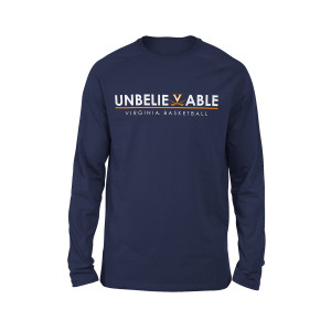 University of Virginia UnBELIEVEable Basketball LS T-shirt