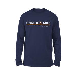 University of Virginia UnBELIEVEable Basketball LS T-shirt