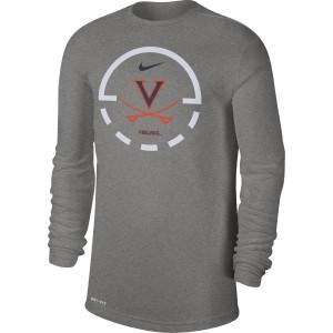 Virginia Basketball DriFit Legend LS T-shirt