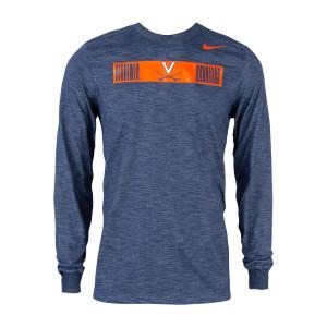 Virginia DriFit Nike Slub LS T-shirt