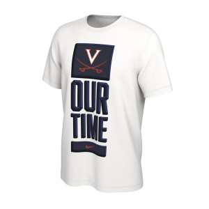 Virginia Cavaliers 2020 Our Time Bench T-shirt