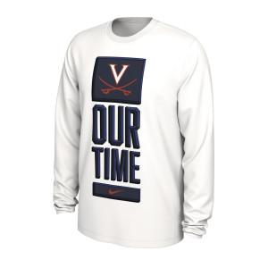 Virginia Cavaliers 2020 Our Time Bench LS T-shirt