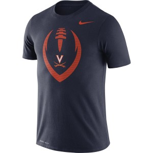 University of Virginia 2020 Nike SS Legend Icon Navy T-shirt