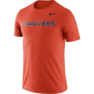 University of Virginia 2020 Nike SS Legend Team Orange T-shirt