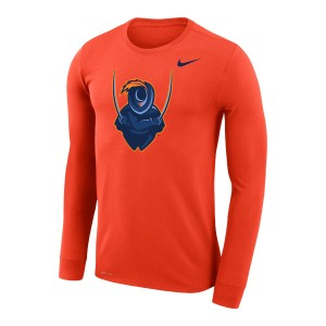 UVA Cavalier Dri-FIT Performance Legend Orange Long Sleeve T-shirt