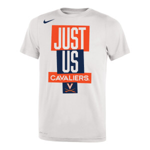"Virginia Basketball 2021 ""Just Us"" Bench Short-Sleeve T-Shirt"