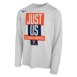 "Virginia Basketball 2021 ""Just Us"" Bench Long-Sleeve Tee"